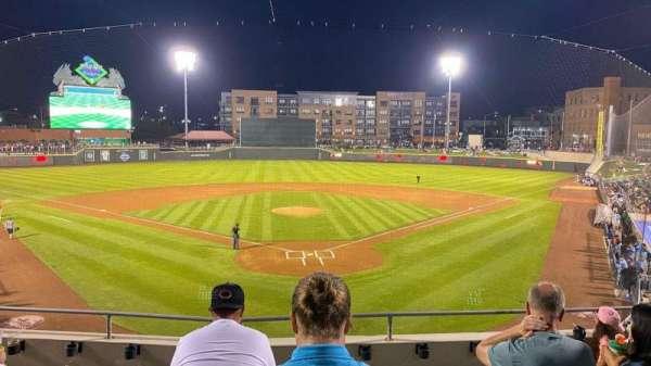 Day Air Ballpark, secção: 206, fila: 5, lugar: 19