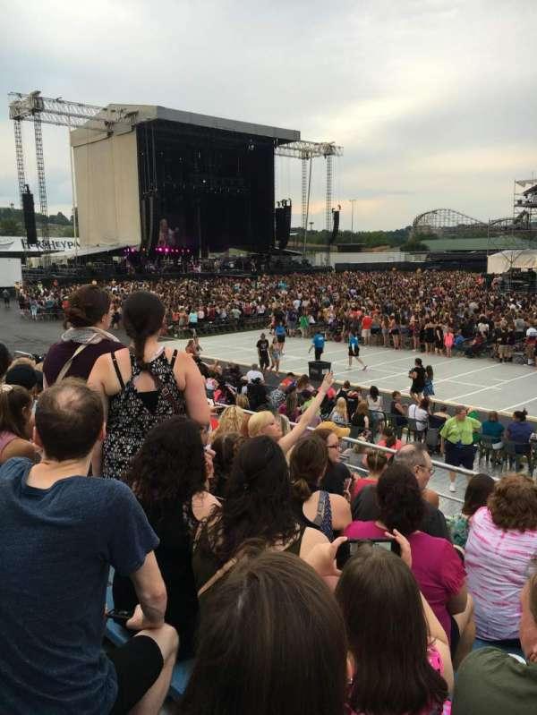Hershey Park Stadium, secção: 7, fila: A, lugar: 8