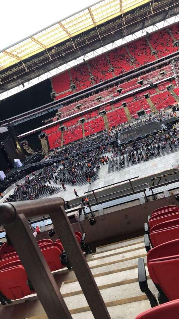 Wembley Stadium, secção: 227, fila: 6, lugar: 12