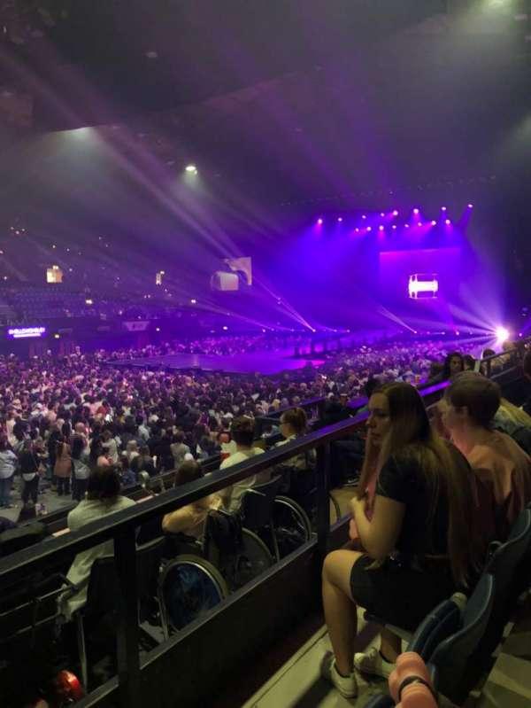 SSE Arena, Wembley, secção: N12, fila: D, lugar: 133