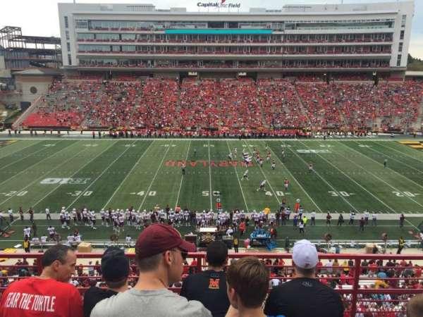 Maryland Stadium, secção: 206, fila: 4, lugar: 15