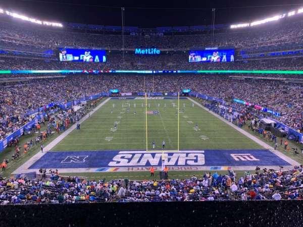 MetLife Stadium, secção: 227A, fila: 1, lugar: 6