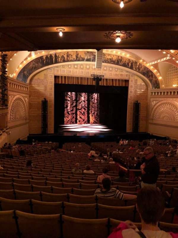Auditorium Theatre, secção: Drs, fila: LL, lugar: 501