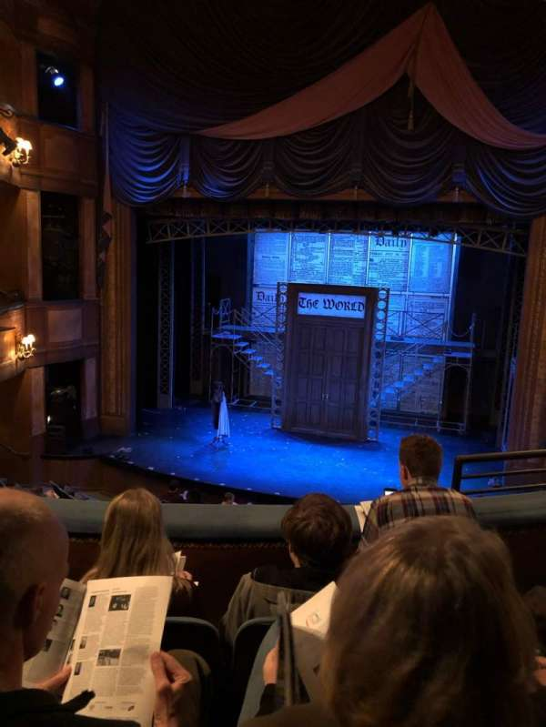 Cabot Theatre at the Broadway Theatre Center, secção: Dress Circle, fila: C, lugar: 13