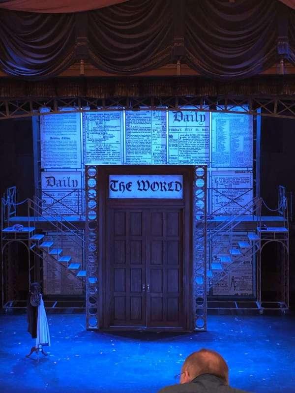 Cabot Theatre at the Broadway Theatre Center, secção: Dress Circle, fila: C, lugar: 9