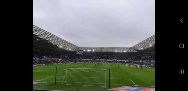 Liberty Stadium, secção: North Stand Lower 3, fila: I, lugar: 93