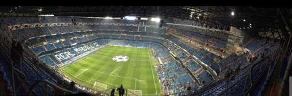 Santiago Bernabéu Stadium, secção: 626, fila: 012, lugar: 007