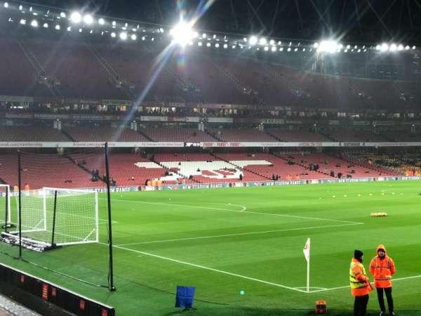 Emirates Stadium, secção: 5, fila: 5, lugar: 155