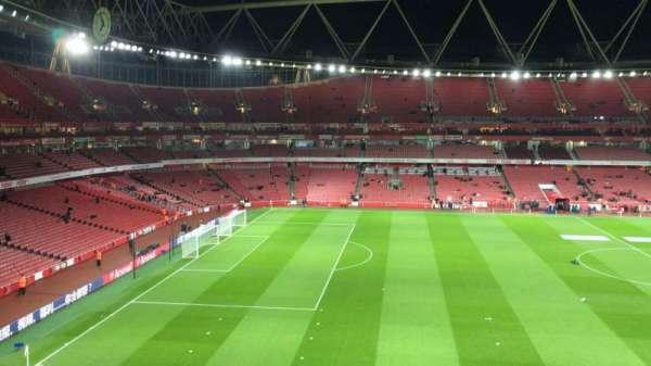 Emirates Stadium, secção: 114, fila: 1, lugar: 662