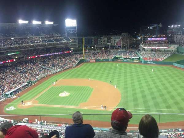 Nationals Park, secção: 420, fila: N , lugar: 31