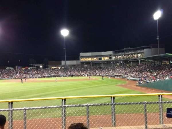 Goodyear Ballpark, secção: Berm