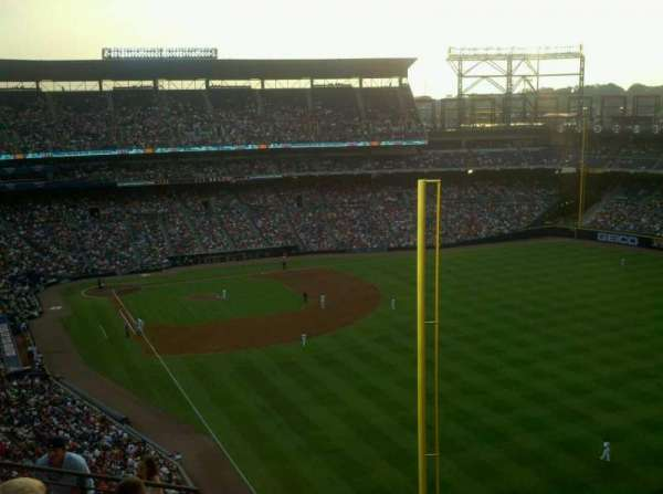 Turner Field, secção: 429, fila: 15, lugar: 6