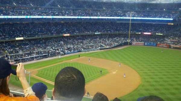 Yankee Stadium, secção: 312, fila: 4, lugar: 23