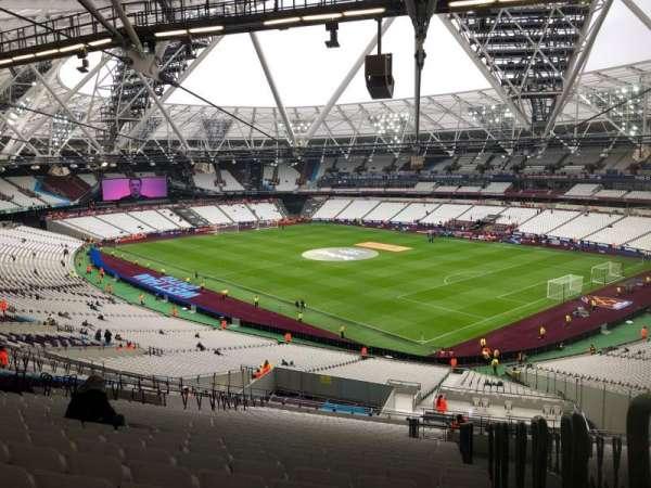 London Stadium, secção: 243, fila: 61, lugar: 218