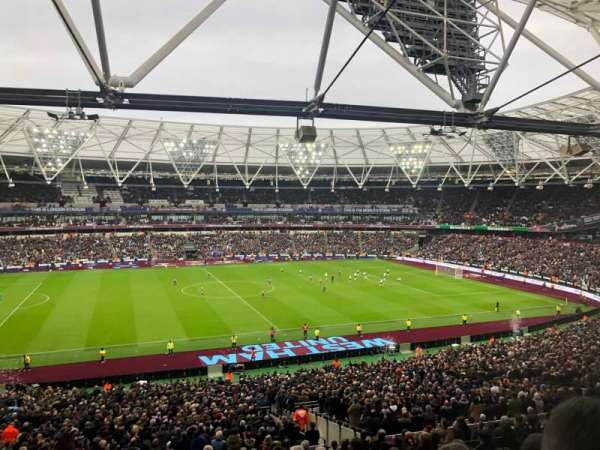 London Stadium, secção: 234, fila: 48, lugar: 478
