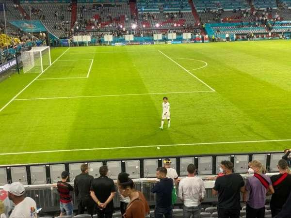 Allianz Arena, secção: 119, fila: 17, lugar: 2
