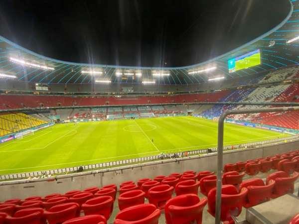 Allianz Arena, secção: 230, fila: 6, lugar: 7