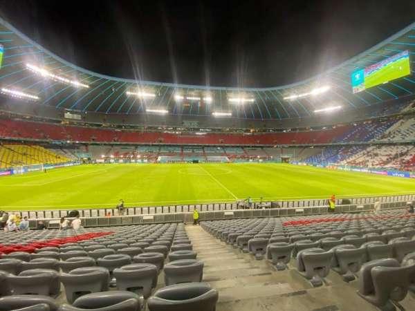 Allianz Arena, secção: X, fila: X, lugar: X