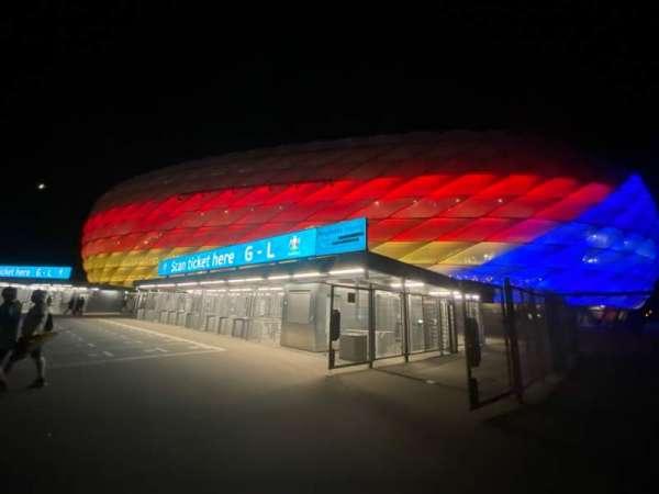 Allianz Arena, secção: Outside