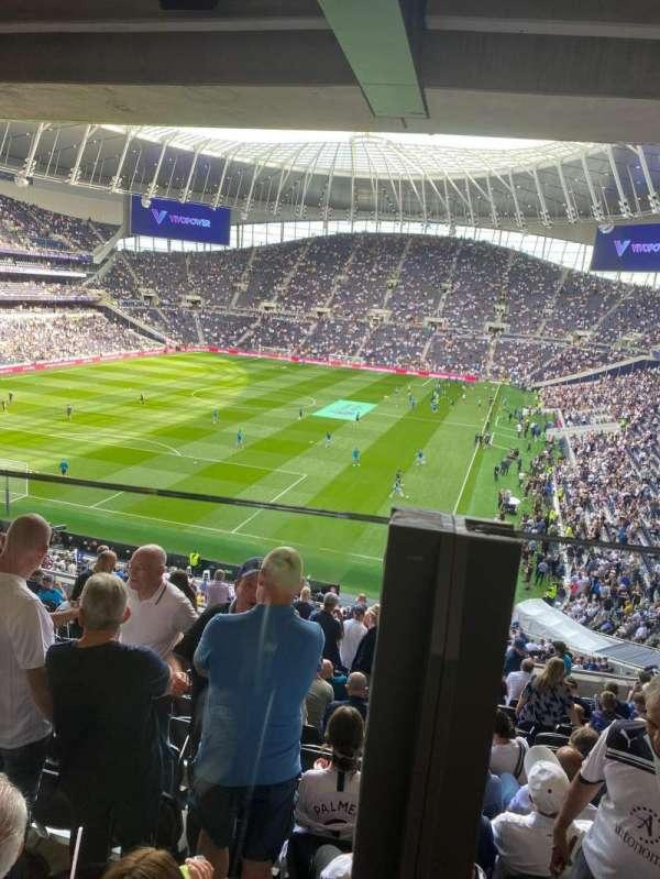 Tottenham Hotspur Stadium, secção: 418, fila: 14, lugar: 292
