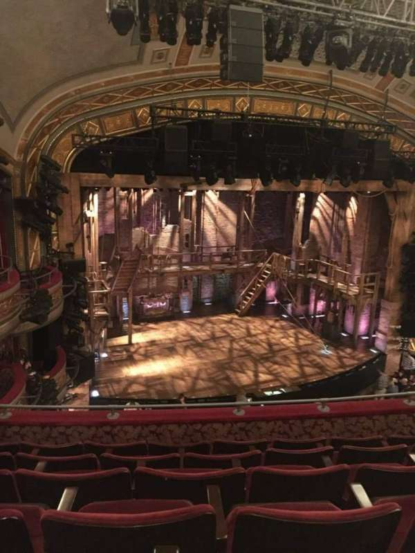 Richard Rodgers Theatre, secção: Front Mezzanine L, fila: F, lugar: 17