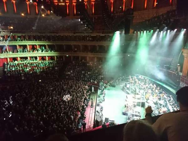 Royal Albert Hall, secção: Second tier, fila: Box 81, lugar: 5