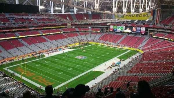 State Farm Stadium, secção: 452, fila: 19, lugar: 23