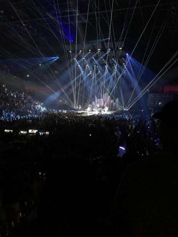 Mohegan Sun Arena, secção: 18, fila: P, lugar: 23