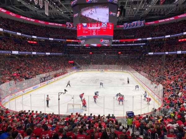 Capital One Arena, secção: 106, fila: U, lugar: 7