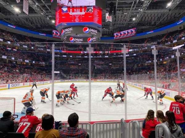Capital One Arena, secção: 106, fila: 7, lugar: 11