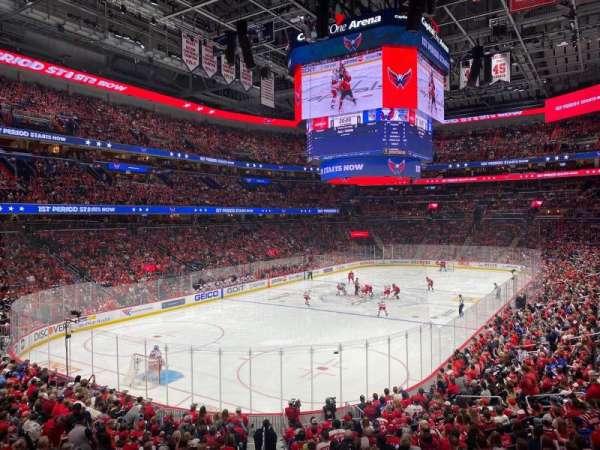 Capital One Arena, secção: 107, fila: U, lugar: 16