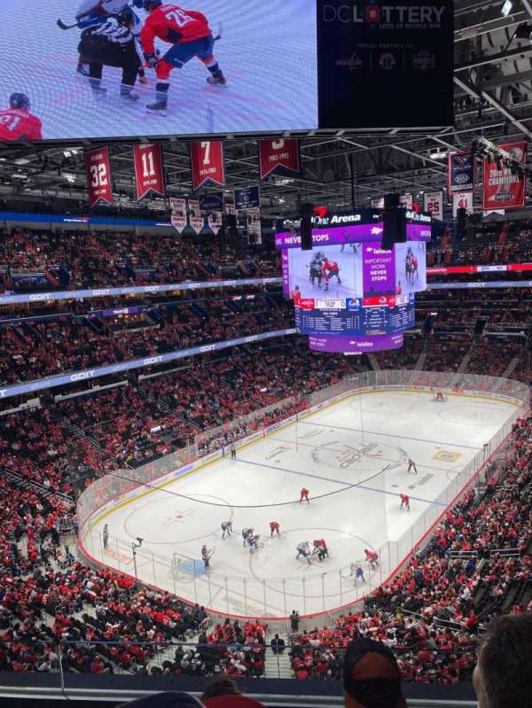Capital One Arena, secção: 411, fila: C, lugar: 13