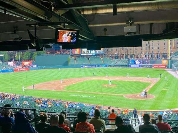 Oriole Park at Camden Yards, secção: 43, fila: 13