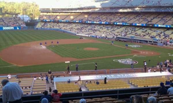 Dodger Stadium, secção: 139lg, fila: m, lugar: 6