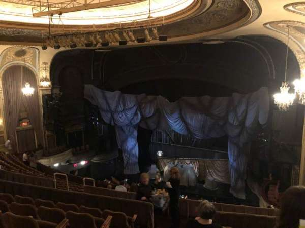 Majestic Theatre, secção: Rear Mezzanine R, fila: F, lugar: 6