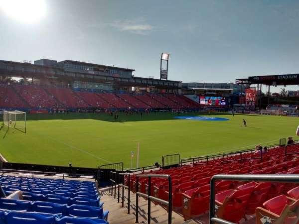 Toyota Stadium, secção: 121, fila: 12, lugar: 14