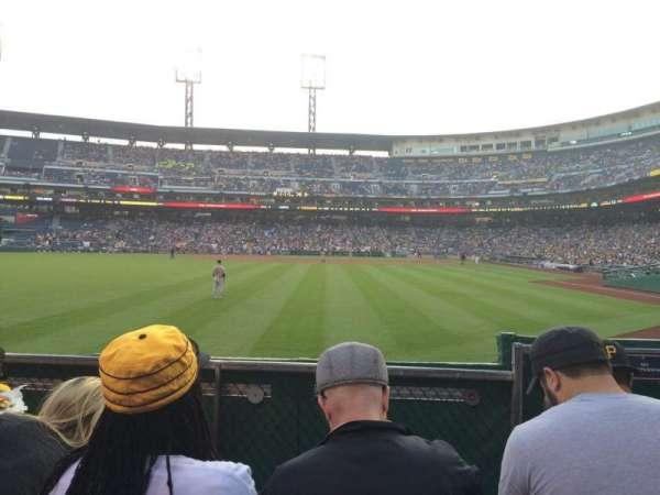 PNC Park, secção: 135, fila: D, lugar: 5