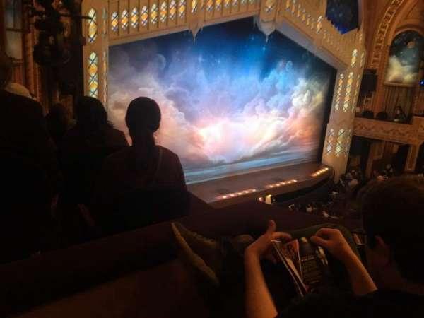 Eugene O'Neill Theatre, secção: Left Mezzanine, fila: B, lugar: 25