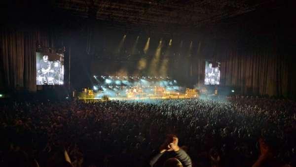 Arena Birmingham, secção: Block 08, fila: S, lugar: 305