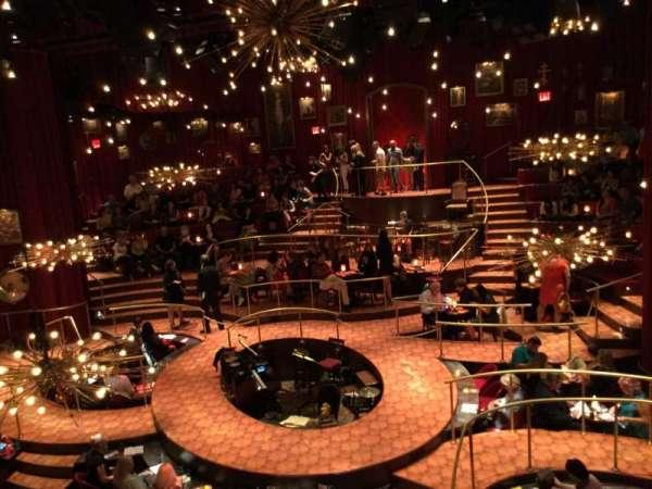 Imperial Theatre, secção: Front Mezzanine Sec 2, fila: A, lugar: 9