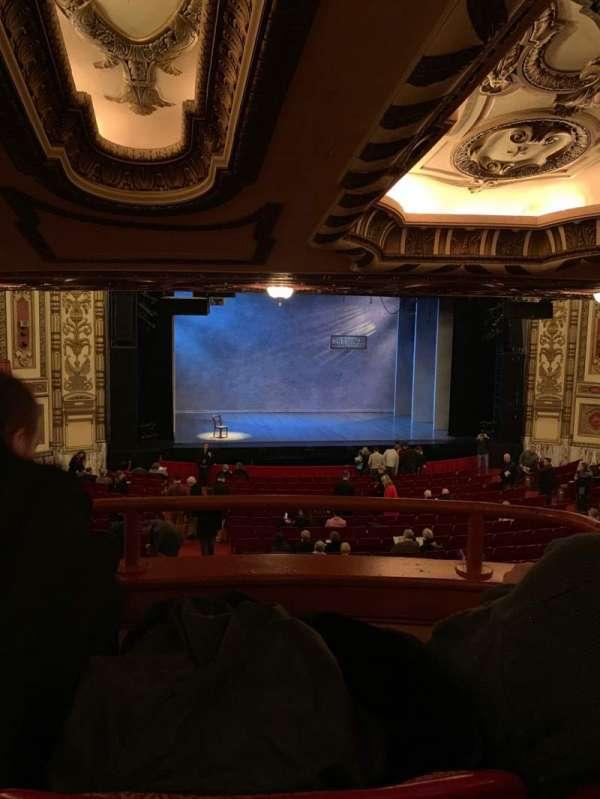 Cadillac Palace Theater, secção: Dress Circle, fila: 8, lugar: 206