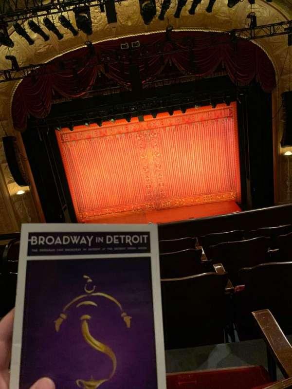 Detroit Opera House, secção: EE, fila: A, lugar: 202