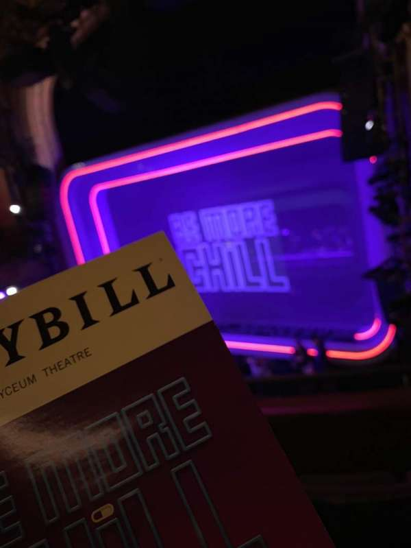 Lyceum Theatre (Broadway), secção: Mezzanine R, fila: C, lugar: 16