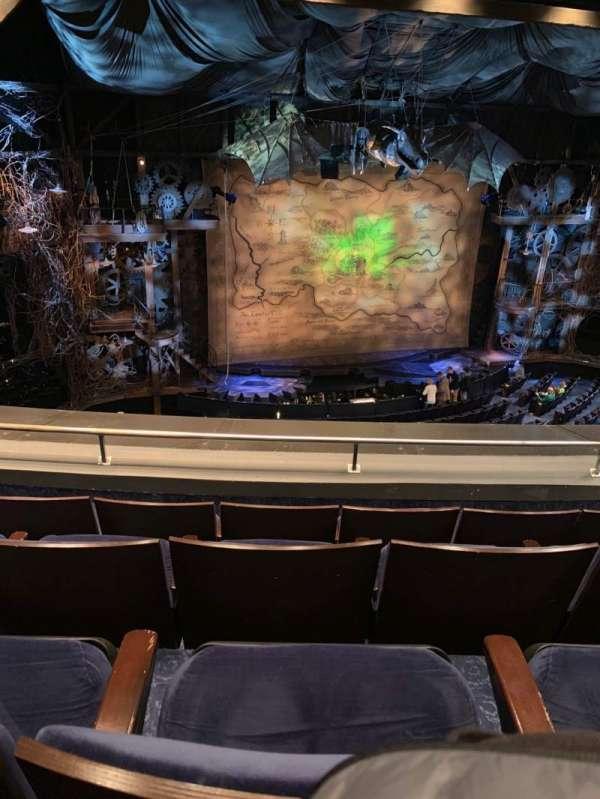Gershwin Theatre, secção: FMEZZ, fila: D, lugar: 7