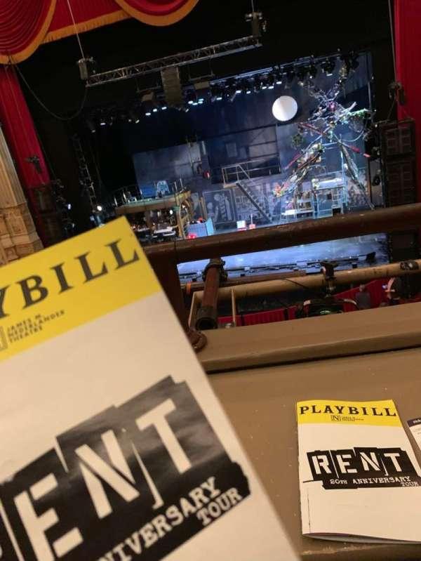 Nederlander Theatre (Chicago), secção: Loge, fila: A, lugar: 24