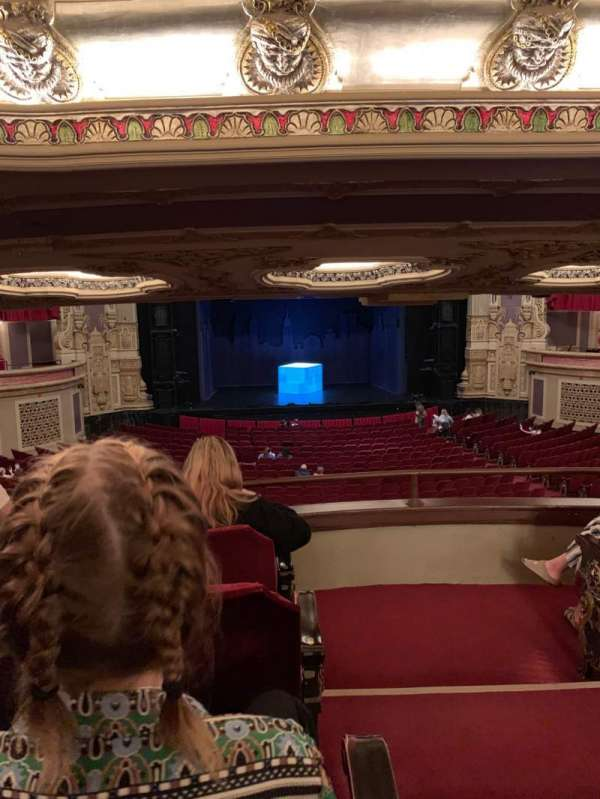 Nederlander Theatre (Chicago), secção: Dress Circle LC, fila: D, lugar: 221