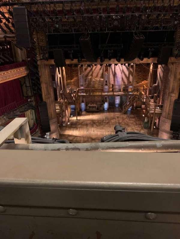 CIBC Theatre, secção: Balcony LC, fila: A, lugar: 401
