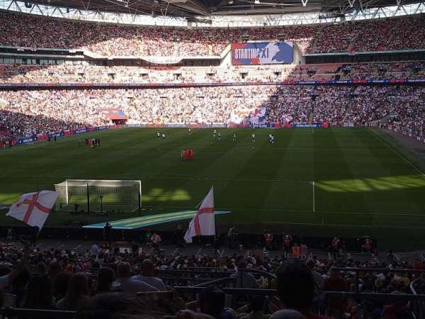 Wembley Stadium, secção: 132, fila: 42, lugar: 282