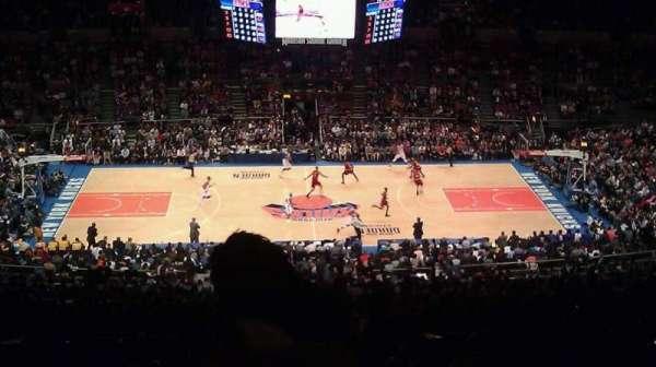Madison Square Garden, secção: 211, fila: F, lugar: 23