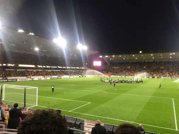 Molineux Stadium, secção: NL2, fila: L, lugar: 35